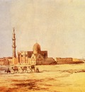 Richard Dadd Tombs Of The Khalifs Cairo