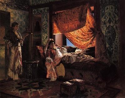 Rudolf Ernst A Moorish Interior