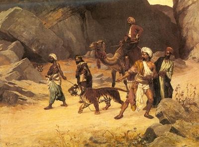 Rudolf Ernst The Tiger Hunt