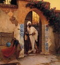 Rudolf Ernst By The Entrance