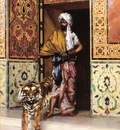 Rudolf Ernst The Pashas Favourite Tiger