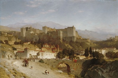 Samuel Colman The Hill Of The Alhambra Granada