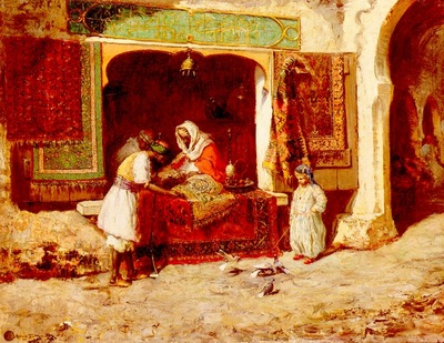 Thomas Millar Addison The Rug Merchant