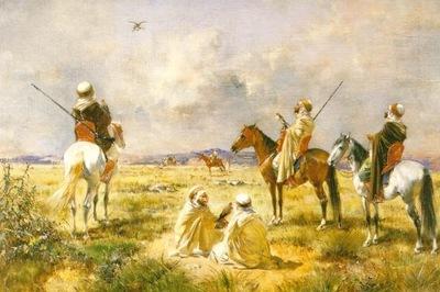 Victor Pierre Huguet Falcon Hunt