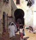 Willard Leroy Metcalf Street Scene Tangiers