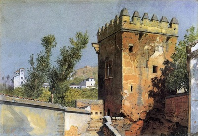 William Stanley Haseltine View From The Alhambra