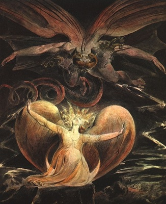 blake the great red dragon and the woman clothed with th