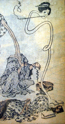 Hokusai rokurokubi