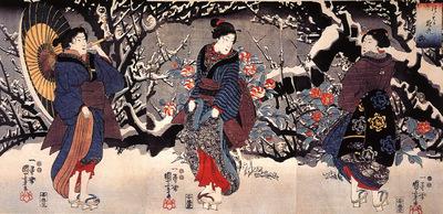 kuniyoshi utagawa, women