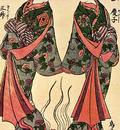 Torii Kiyohiro Ichikawa Danjuro IV and Nakamura Tomijuro I