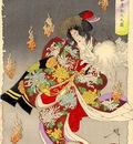 Yoshitoshi The Foxfires