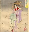 Yoshitoshi The Spirit of the Komachi Cherry Tree