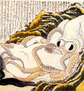 dream of the fishermans wife hokusai