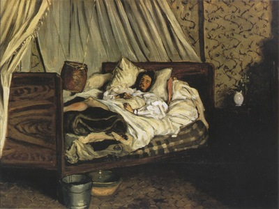 [Frederic Bazille] The Improvised Ambulance Claude Monet Wounded [1866]