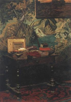 Corner of a studio [1861]