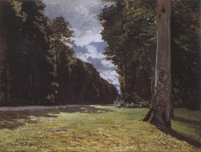 La Pave de Chailly in the Forest of Fontainebleu [1865]