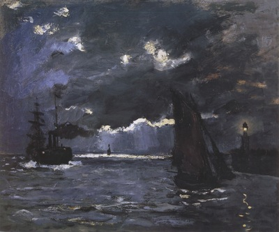 Seascape, Night Effect [1866]