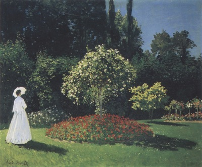 Jeanne Marguerite Lecadre in the Garden [1866]