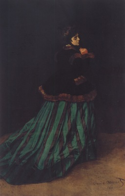 Camille or The Woman with a Green Dress [1866]