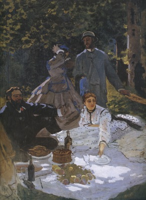 Luncheon on the Grass, Central Panel [1865]