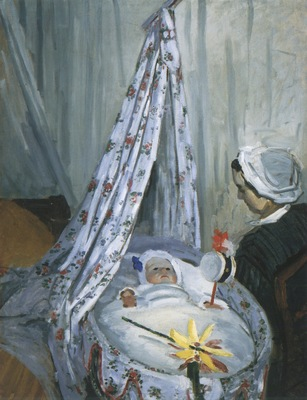 Jean Monet in his Cradle [1867]