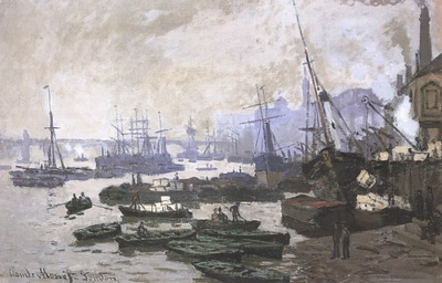 Boats in the Port of London [1871]