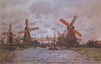 Windmills near Zaandam [1871]