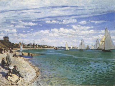 Regatta at Sainte Adresse [1867]