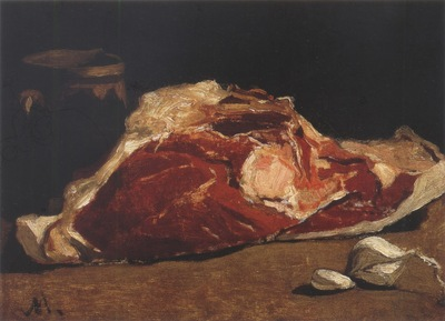 Still Life with Meat [1862 1863]