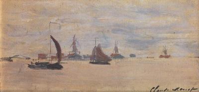 View of the Voorzaan [1871]