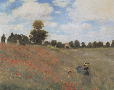 Poppies at Argenteuil [1873]