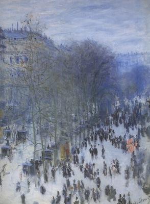 Le Boulevard the Capucines [1873]