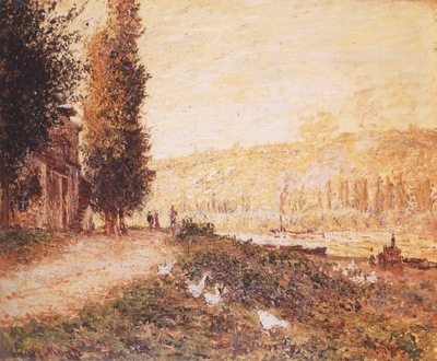 Banks of the Seine at Lavacourt [1878]