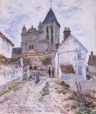 The Church at Vetheuil [1878]