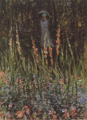 The Garden, Gladioli [1876]