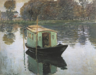 The Studio Boat [1874]