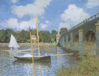 The Road Bridge at Argenteuil [1874]