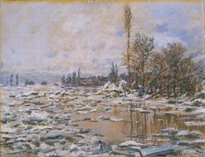Breakup of Ice, Grey Weather [1880]