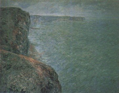 The Sea Seen from the Cliffs [1881]