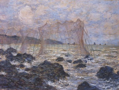 Fishing Nets at Pourville [1882]