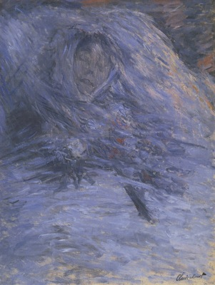 Camille Monet on her Deathbed [1879]