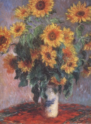 Bouquet of Sunflowers [1880]