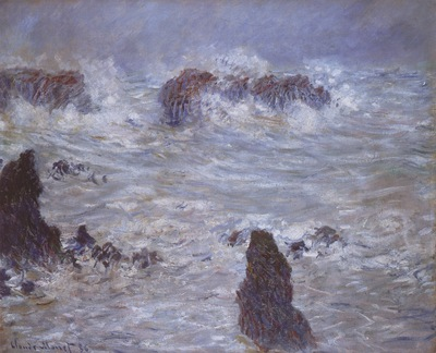Storm off the Belle Ile Coast [1886]