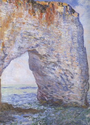 The Manneporte near Etretat [1885 1886]