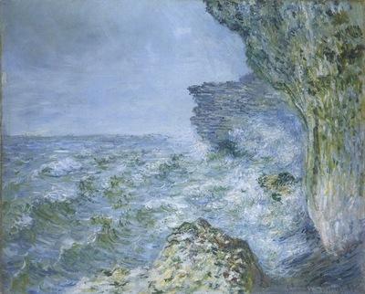 The Sea at Fecamp [1881]