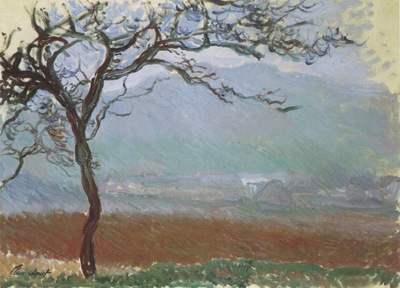 Landscape at Giverny [1887]