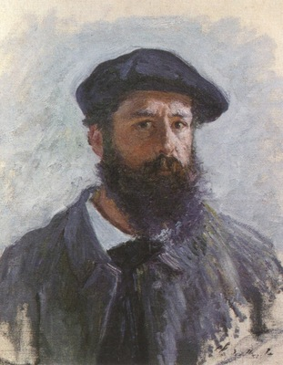 Self Portrait with a Beret [1886]