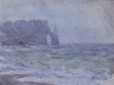 Etretat in the Rain [1885 1886]