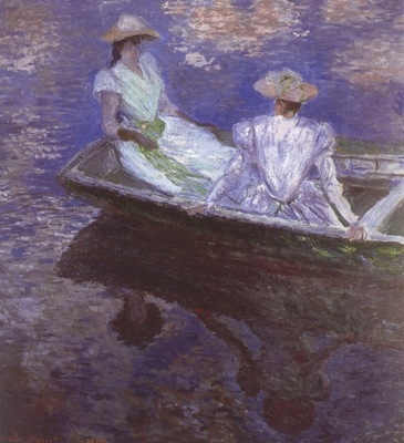Young Girls in the Rowing Boat [1887]