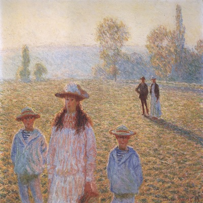 Landscape with Figures, Giverny [1888]